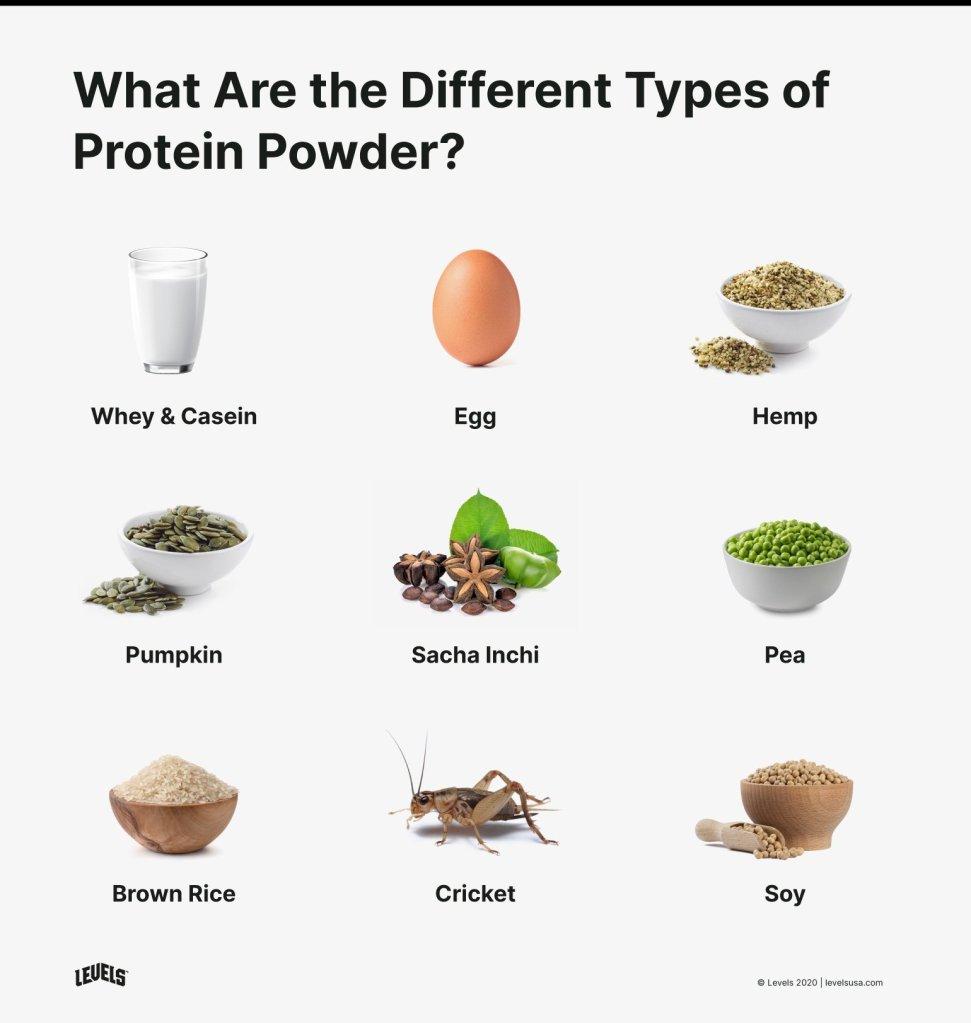 Types of protein powder, nitro tech